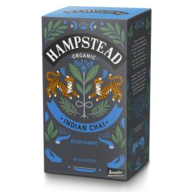 Hampstead Organic Indian Black Chai Tea (individually wrapped) 40g x4