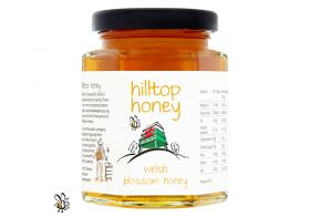 Hilltop Welsh Blossom Honey 227g x4