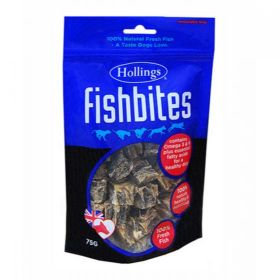 Hollings Fish Bites For Dogs 75g x8