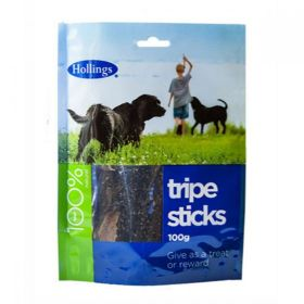 Hollings Tripe Sticks For Dogs 100g x10
