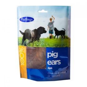 Hollings Pig Ears For Dogs 2 pack x10