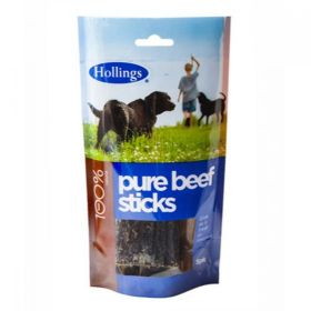 Hollings Beef Sticks For Dogs 5 Pack x15