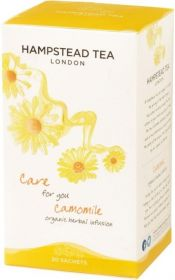 Hampstead Organic Camomile Herbal Infusion Tea (individually wrapped) 25g x4