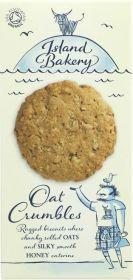 Island Bakery Organics Oat Crumble Biscuits 150g x12