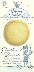 Island Bakery Organics Buttery Shortbread Biscuits 125g x12
