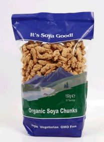 It's Soya Good Organic Soya Chunks 150g x6