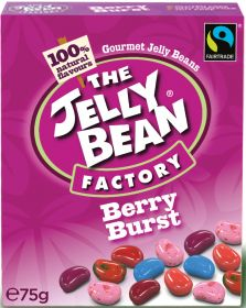 Jelly Bean Factory Fair Trade Berry Burst 75g x16