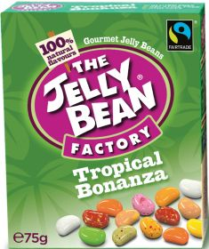 Jelly Bean Factory Fair Trade Tropical Bonanza 75g x16