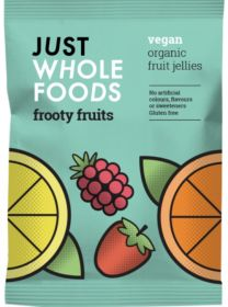 Just Wholefoods Vegebears - Frooty Fruits 100g x8