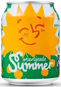 Karma Fair Trade & Organic Summer Orangeade Drink 250ml x24