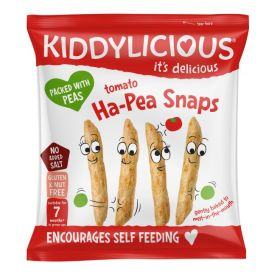 Kiddylicious Tomato Ha-Pea Snaps 15g x8