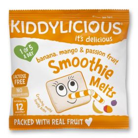 PROMO Kiddylicious Banana, Mango and Passion Fruit Smoothie Melts 6g x16