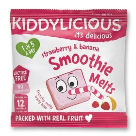 PROMO Kiddylicious Strawberry and Banana Smoothie Melts 6g x16