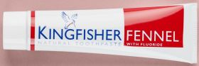 Kingfisher Toothpaste Fennel 12x100ml