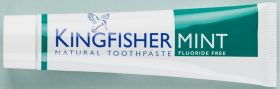 Kingfisher Toothpaste Mint fluoride-free 12x100ml