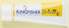 Kingfisher Toothpaste Children's Strawberry 12x75ml