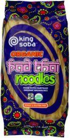 King Soba Fair Trade & Organic Pad Thai Noodles 250g x12