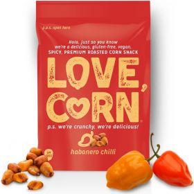 Love Corn Premium Spicy Habanero Crunchy Corn 45g x10