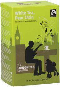 London Tea Company Fair Trade White Tea, Pear Tatin Teabags 40g (20s) x6