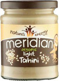 Meridian Organic Tahini Light 100% 6 x 470g