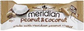 Meridian Sustain Peanut & Coconut Bar Multipack 12 x (3 x 40g)