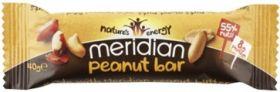 Meridian Sustain Peanut Bar Multipack 12 x (3 x 40g)