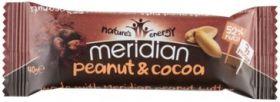 Meridian Sustain Peanut & Cocoa Bar Multipack 12 x (3 x 40g)