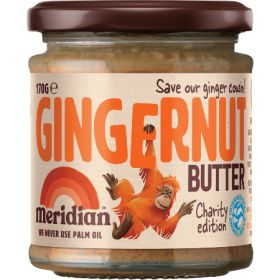 Meridian Gingernut Butter 'Charity Edition' 6 x 170g