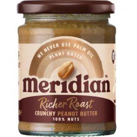 Meridian Rich Roast Crunchy Peanut Butter 100% 6 x 280 g