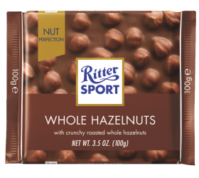 Ritter SPORT Milk Whole Hazelnut 100g