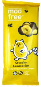 PROMO Moo Free Organic Crunchy Banana Chocolate 100g x10