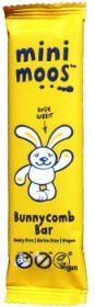 PROMO Moo Free Organic Bunnycomb Chocolate (Mini Moos) 25g x15