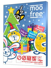 Moo Free Organic Advent Calendar 100g x6