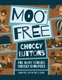Moo Free Milk Chocolate Buttons 25g x25