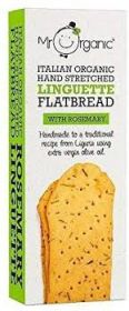 Mr Organic Flatbread with Rosemary ( 10 x 150g)