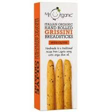 Mr Organic Breadstick with Olives ( 10 x 130g)