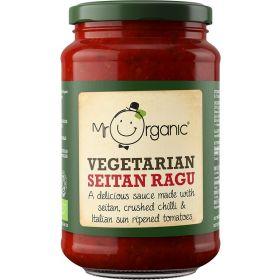 Mr Organic Seitan Pasta Sauce (glass jar) 350g x6