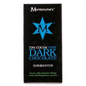 Montezuma Organic Very Dark Chocolate 90g x12
