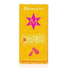 Montezuma Milk Chocolate with Peanut Butter 100g x12