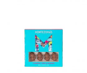 Montezuma Milk Chocolate Cranberry Snowmen 110g x10