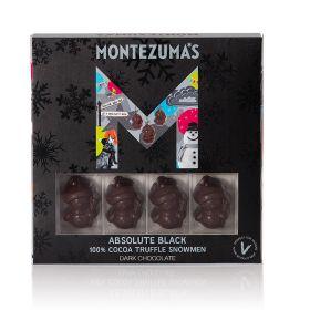 Montezuma Absolute Black Snowmen 110g x10