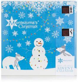 Montezuma Dark Advent Calendar 240g x5