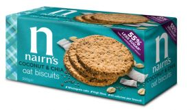 Nairn's coconut & Chia Seeds  10 x200g