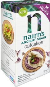 Nairn's ancient Grain Oatcakes 8x200g