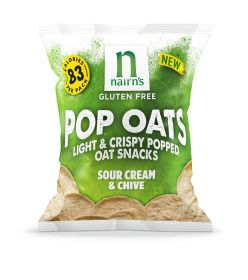 Nairn's Sour Cream & Chive Pop Oats 14 x 20g
