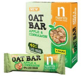 Nairn's Apple & Cinnamon Oat Bars 12 x 4*40g