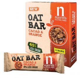 Nairn's Cacao & Orange Oat Bars 12x40g(x4)