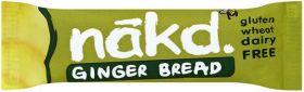 Nakd Ginger Bread Bar 35g x18