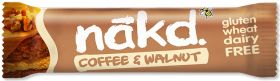 Nakd Coffee and Walnut Bar 35g x18