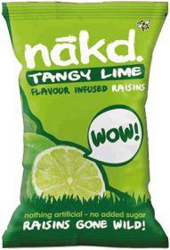 Promo Nakd Lime Infused Raisins 25g x18